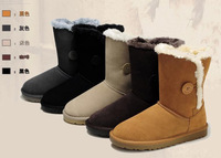 Free ShippingHot sale   cow muscle  women's Snow boots 5 colors size 34- 39