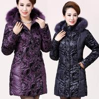 Winter Jacket Women 2014 Down Parkas Women Plus Size Down Puffer Coat  Fox Fur Hooded Short Down Jackets Women Winter Coat  6882