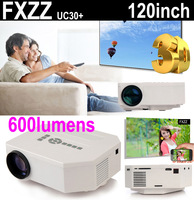 New 3D Mini Multimedia LED Projector Home Education Cinema Video AV TV VGA HDMI USB TF Card Free Shipping for Russia Brazil