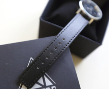 2014 New Fashion Style Women Inverted Triangle Hollow Casual Quartz Watch W10044