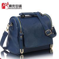 Handbags original single European and American big new Crown of England double-pull fashion bag retro handbags