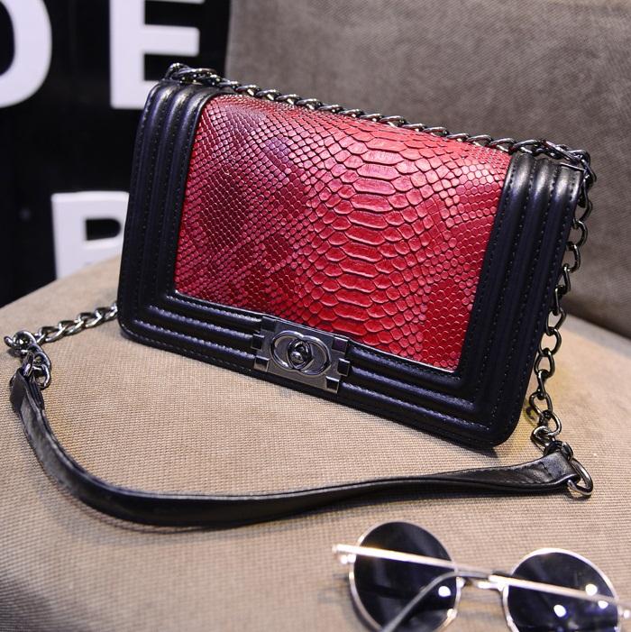AliExpress.com Product - 2015 New Fashion women handbag brief crocodile pattern shoulder bags women messenger bags leather handbags Women Crossbody Bags