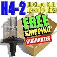 free shipping H4-2 H4/L H4 one xenon one haolage hid xenon bulb  35W 55W  normal colour