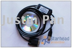 Drop shipping USB-PPI USB/PPI Programming Cable,for Siemens S7-200 PLC,PC/PPI (PCPPI) USB Version 6ES7 901-3DB30-0XA0(China (Mainland))