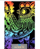WHOLESALE Scratch Art Paper Drawing Children's Favorite DIY Bamboo Pen Promotion Fashion Gift 10packs=100pcs/lot Say Hi DIY 16Kc