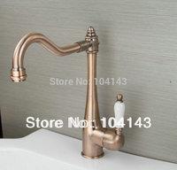 Antique Copper Faucet Kitchen / Bathroom Mixer Tap   yye- C99