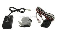 Free shipping Car Reverse Backup Radar Electromagnetic parking sensor parking safety no holes no drilled Parking Assistance
