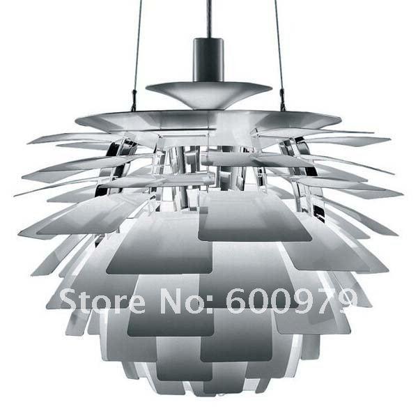 80CM Aluminium Color Poul Henningsen PH Artichoke  Pendant Lamp brand new for wholsale(China (Mainland))