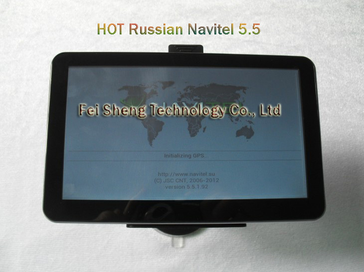 7 inch Car GPS with CE6.0 4GB DDR128M HD800*480 FM E-book Games Video &amp; Audio Photos Player Converter Browser + Chinapost(China (Mainland))
