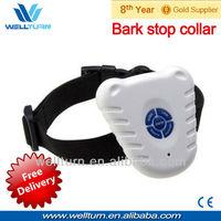 Free shipping hot sell ultrasonic anti bark stop collar barking control pet dog collar safe