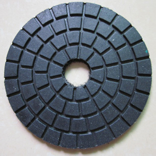 "4"" Black Buff/at last polishing pads/fine polishing pads/B quality for granite and marble(China (Mainland))"