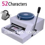 Guaranteed 100% new 52 Characters manual dog tag embosser ,pet tag embosser,steel embossing machine
