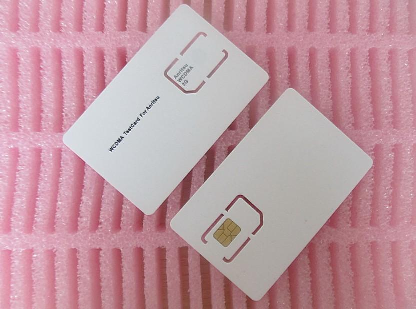 New WCDMA for anritsu 3g test card (3g test sim card) for Anristu