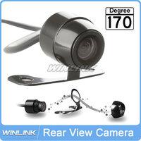Reverse Camera 170 Wide View Angle Waterproof Universal Car Rear View Camera IR Night Vision Free Shipping