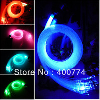 RGB LED optic Fiber engine DIY 16W led engine with 150pcs 3m 1.0mm flashing glow optical fiber ceiling doceration LED light