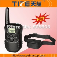 Free shipping~Hot Sale! Remote Training Collar  TZ-PET998D  Bark stop collar+LCD Display +for 1 dog +300 meter range