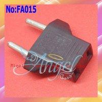 300pcs/lot Universal US to EU AC Power Plug Adapter Converter Cheap Travel Plug Adapter  #FA015