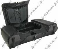 2011 New ATV Box ATV Quad Front Storage Cargo Box +ATV Windshield  Free Shipping!