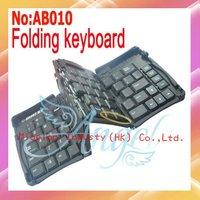 Portable USB interface Mini Foldable Keyboard,USB Keyboard,USB Flexible Keyboard Wiht Retail packaging #AB010