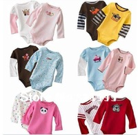 [2013 new wear] New arrivel Baby Romper carters long sleeve MOQ 1PCS free shipping