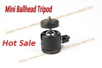 Free shipping Mini Ballhead Ball Head Tripod Light Stand Monopod Photographic Equipment 107012