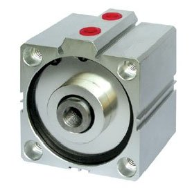 "SDA Series Compact ultrathin Pneumatic Air Cylinder Double acting 40"" bore 50"" stroke Aluminum Alloy actuator components"