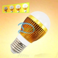 5 pcs 6W Warm White E27/E26 Medium base LED Light A15 Dimmable Bulb Lamp 110V/120V #5 x DQ0059