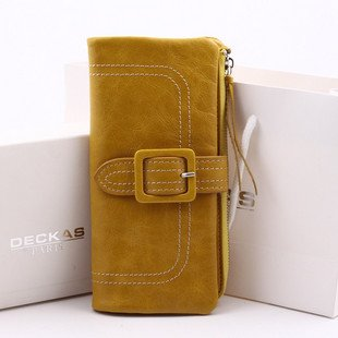 Retail ladies wallets, women's wallet,cow leather lacquered bag&handbag,Free shipping 1101