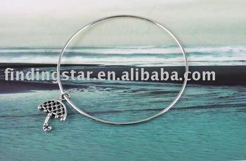 FREE SHIPPING 20PCS Beach Umbrella Charm Bangle Bracelet #20155