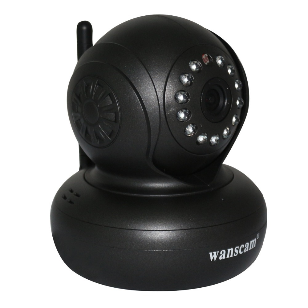 New Plug&Play Wireless WiFi WPA Network Webcam IP Internet Camera Dual Audio Pan Tilt Night Vision IR Home Security Surveillance(China (Mainland))