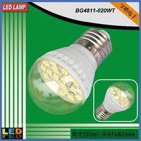 High brightness 3W SMD led bulb,12V led light with E27,B22 or E14 socket