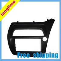 Free shipping-Car refitting DVD frame,DVD panel,Dash Kit,Fascia,Radio Frame,Audio frame for 2005 HONDA CIVIC,2DIN(right)