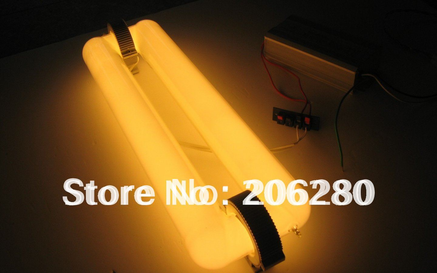 Free Ship--300W Rectangular Induction lamp 2700K~6500K Grow light Cheaper than LED Plant Grow Light Low Heat Than HPS Lamp(China (Mainland))