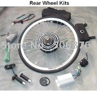 Wholesale 48V 1000W Ebike Conversion Kits (Rear Wheel),electric bicycle conversion kits,2011 new style,powerful