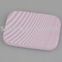 Sfot Make Up Songe Face Powder Puff Facial Face Sponge Makeup Cosmentix Powder Puff Purple 60*44*8mm
