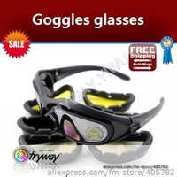 1 pcs Free shipping(CHINA air mail),Goggles Sports Racing glasses/ C5 Desert Storm Sun Glasses/Wholesale!