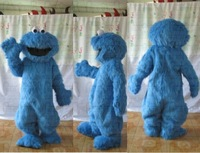 long fur cookie monster costume cookie monste mascot costumes
