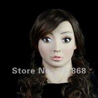 SF-7 Human mask face mask Full head mask Party Masks horror mask Silicon Mask Female Mask mask props