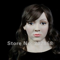 [SF-8] rubber latex mask Party Masks halloween mask Female Mask Silicon Mask face mask