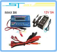 IMAX B6 Digital RC Lipo NiMh Battery Balance Charger+AC POWER 12V  5A Adapter 2S-6S 7.4V-22.2V  Free shipping 2014