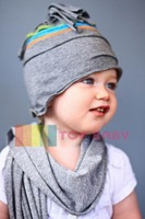 Sweet Love Store #2B1501 50pcs/lot wholesale TOP BABY hat !!! Beanie kids cap Baby Cotton Hat
