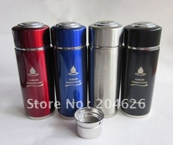10pcs/lot nano alkaline energy flask nano cup water ionizer with filter(China (Mainland))