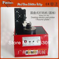 TDY-380 round type,Desktop electric pad printer,ink date printer