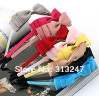 12pcs/lot Free Shipping Headwear Hair Bands bow knot Headband
