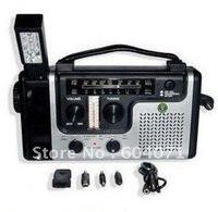 Guaranteed 100% Solar Dynamo radio,Hand-Crank Dynamo with 9-in-1 Emergency Solar Dynamo Radio