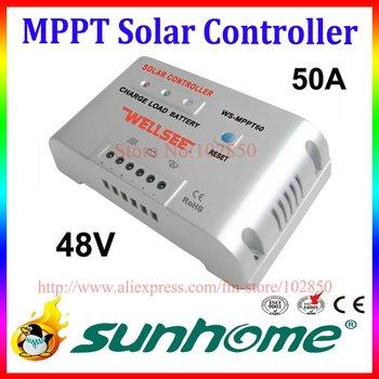 48V,50A MPPT solar charge regulator controller for off grid solar system,CE,ROSH