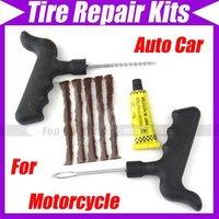 Car Tubeless Tyre Tire Motorcycle Puncture Repair Kits 1810