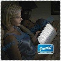 Free shipping wholesale 10pcs/lot plastic LED reading light night light reading book light