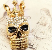 Free Shipping/ Fashion Skull Brooch/ Trend Brooch Jewelry/Custom Brooch/Promotion Gifts/Birthday Present