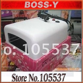 [MOQ1 pcs]36W Art Gel UV Nail Curing Polish Dryer uv lamp Light 110V 220V Free Shipping